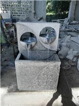 Natural Granite Stone Outdoor Garden Fountain