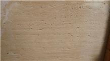 Light Beige Travertine Tiles & Slab