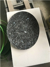Blue Pearl Granite Plate Dishes Round Trays