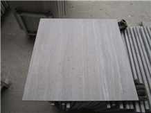 China White Wooden Marble Tile Flooring Wall Tile