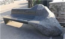 G654 Bench, Padang Dark Granite Outdoor Benches
