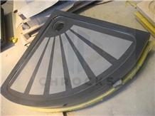 G654 Granite Shower Tray, Grey Granite Shower Tray