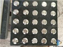 G654 Padang Dark Grey Granite Blind Paver Stone