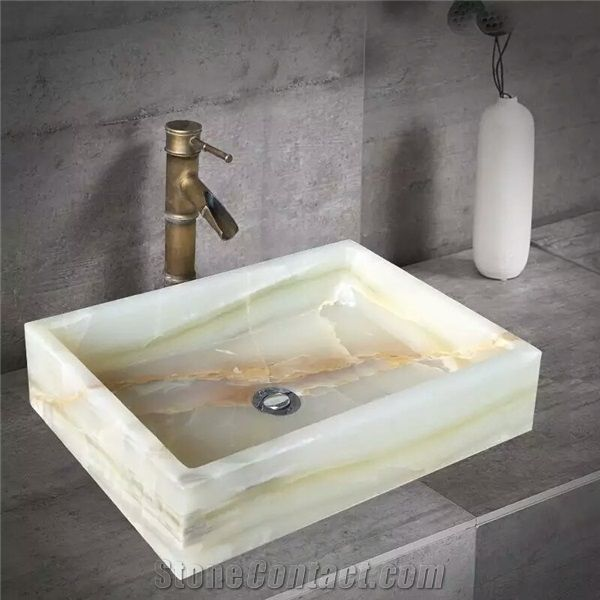 Sinks Green Onyx Bathroom Basins