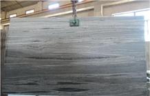 Landscape Grey Granite Slab Ash Grey Granite Tiles