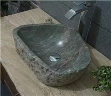 Nine Dragon River Stone Sink,China Marble Sink