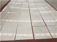 Oriental White Marble Flooring Polished Tiles