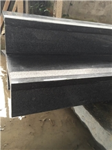 Padang Dark Granite Stairs Raiser, G654 Step