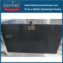 G654 Chinese Impala Black Granite Countertop