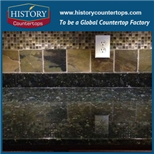 Granite Butterfly Green Kitchen Countertops