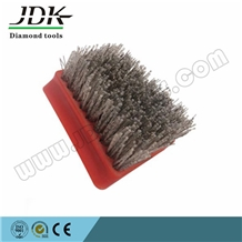 Frankfur Steel Antique Brush Abrasive for Marble