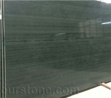 China Green Wooden Marble Slab&Tile Wall Cladding