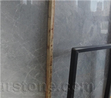 Dora Cloud Grey Marble Slabs Hotel Feature Wall