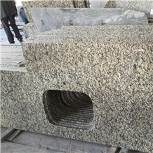 China Sesame Gold Granite Kitchen Top