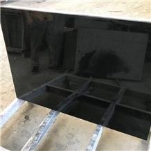 Chinese Menggu Black Granite Slabs