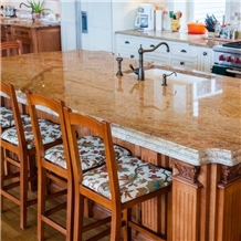 Madura Gold Granite Kitchen Islands Top Countertops