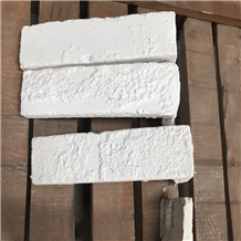 White Artifical Cultured Stone Wall Cladding