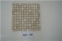 Mosaics-2, Beige Travertine Mosaics