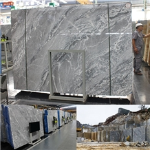Dream Grey Italy Cross Veining and Straight Grain