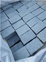 Dalian G603 Grey Granite Cobble Stone