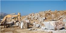Chios Brown Marble Blocks