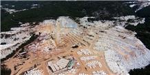 Victory White-Kycnos White(Kyknos) Marble Blocks