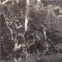 Volos Brown Marble Slabs, Tiles