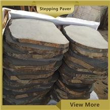 Black Basalt Flagstone,Crazy Paver,Random Stepper