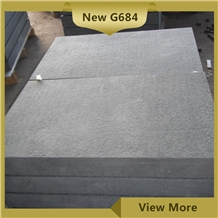 Flamed Black Basalt Pavers,New G684 Flooring Tiles
