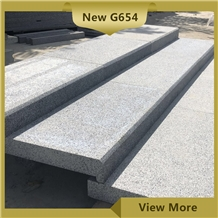 New G654 Grey Granite Steps and Stairs,Landscaping Paving