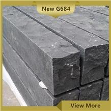 New G684 Garden Palisade,Black Landscaping Pillars