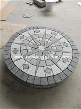 G684+G603 Black Granite Stones Around Paver Mats