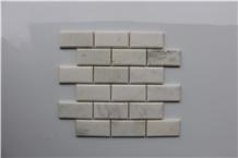 Oriental White Marble Brick Marble Mosaics