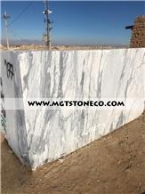 Persian Arabescato Marble Blocks
