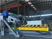 Curbstone Cutter Multi-Blade Stone Cutting Machine