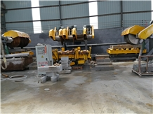 Curbstone Edge Cutting Machine Line