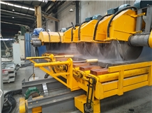 Dafon Multi Disk Curbstone Cutting Machine Line