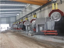 Multidisc Granite-Block Cutting Machine