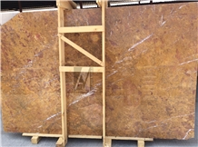 Tropical Oro Marble Slabs, Oman Gold Marble