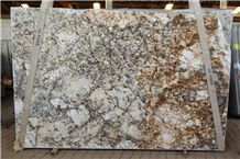 Golden Sun Brazil Granite Slabs