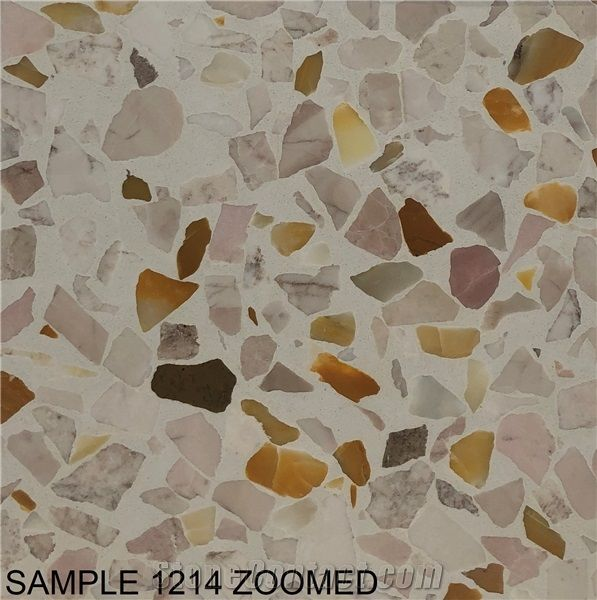 1214 Terrazzo Tile Cement Tile From Hong Kong China