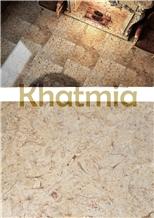 Khatmia Marble Slabs & Tiles, Egypt Beige Marble