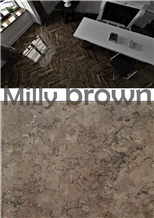 Milly Brown Marble Tiles