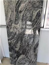 China Juparana Granite Tiles Slabs Wall Grey