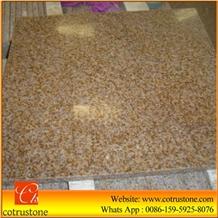 G682 Granite Tiles,Shandong Yellow Granite Slabs,Slabs & Tiles,Sunset Gold Granite,Yellow Rusty Granite
