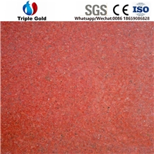 Colour Dyed Taiwan Red Granite Floor Tiles Slabs
