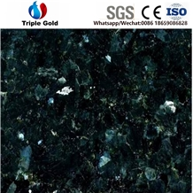 New Emerald Pearl Blue Granite Floor Tiles Slabs