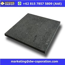 Indonesia Black Basalt Tiles Lava Stone Tiles
