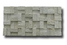 White Classic Limestone Wall Linear Strips Mosaic