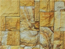 Yellow Palimanan Sandstone Wall Cladding Panels
